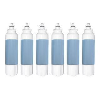 Replacement Water Filter Cartridge for LG ADQ73613401 Filter (6-Pack)