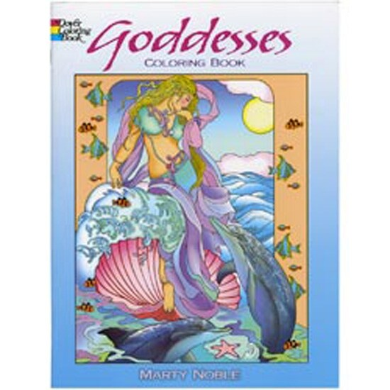- Shop Dover Publications-Goddess Coloring Book - Overstock - 20065284