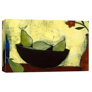 """PTM Images 9-101886  PTM Canvas Collection 8"""" x 10"""" - """"Tabletop Still Life I"""" Giclee Fruits & Vegetables Art Print on Canvas"""