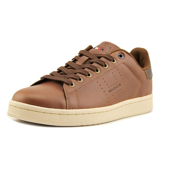 c9d428776bc940 Shop Tommy Hilfiger Liston Men Synthetic Brown Fashion Sneakers ...
