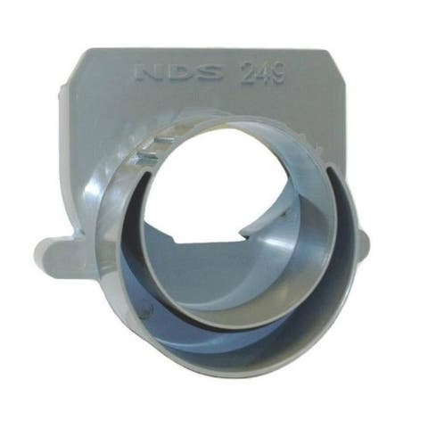 NDS 249 Channel Offset End Outlet, 4""