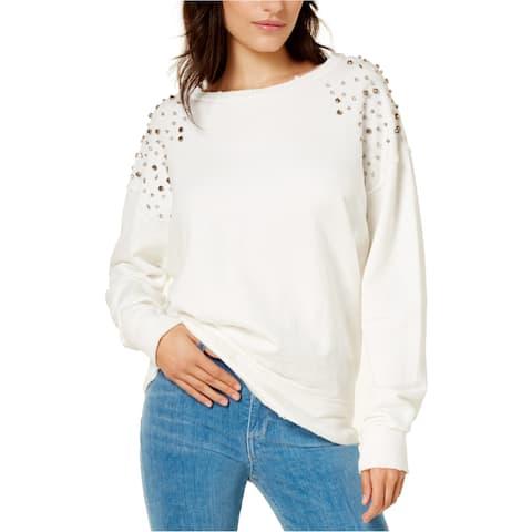 Joe's Womens Embellished Sweatshirt