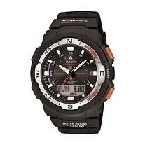 Casio Men's Black Resin Multifunction Watch