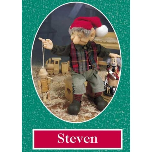 """10.5"""" Zims The Elves Themselves Steven Collectible Christmas Elf Figure - multi"""