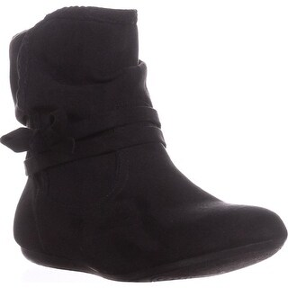 Report Bunnie Slouch Ankle Boots, Black - 5 us