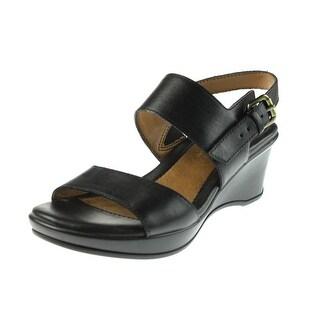 Carrini Women S Flower Sliver Wedge Sandals 14129567