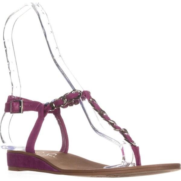 Jessica Simpson Joey T-Strap Sandals, Bermuda Pink - 9 us / 39 eu