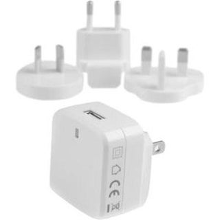 Startech.Com Travel Usb Wall Charger – White – Quick Charge 2.0 – Travel Adapter – International Power Adapter – Travel