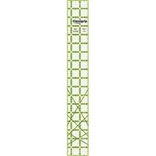 Dritz 84597 Omnigrip Non-Slip Quilters Ruler-2.5 in. x 18 in.