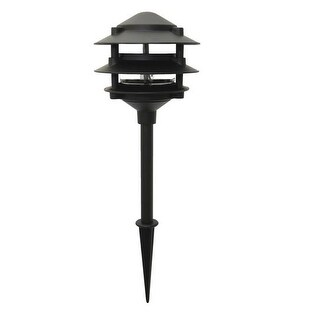 Moonrays 95725 Low Voltage Pagoda Light, 11 Watt
