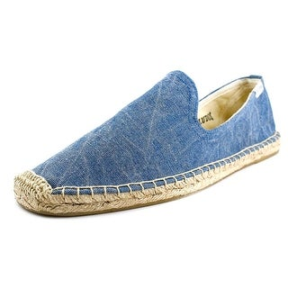Soludos Smoking Slipper Moc Toe Canvas Espadrille