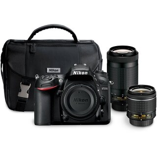 Nikon D7200 DSLR Camera with 18-55mm and 70-300mm Dual Lens Kit