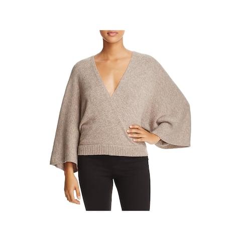 Ella Moss Womens Leah Pullover Sweater Wool Marled