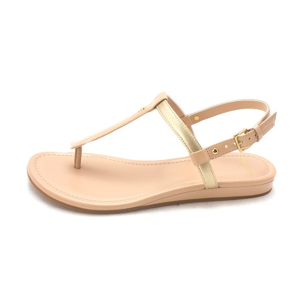Cole Haan Womens Reasonsam Open Toe Casual T-Strap Sandals - 6