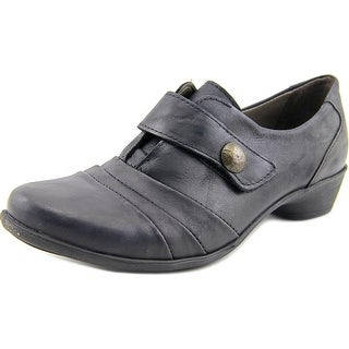 Spring Step Sintra Women  Round Toe Leather Black Loafer
