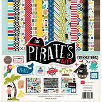 "Echo Park Collection Kit 12""X12""-Pirates' Life"
