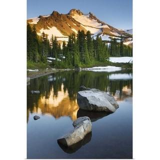 """""""Mount Jefferson Oregon"""" Poster Print"""
