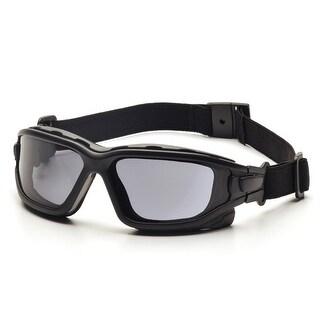 Pyramex I-Force Slim Black Frame Gray AF Lens Sealed Eyewear - SB7020SDNT