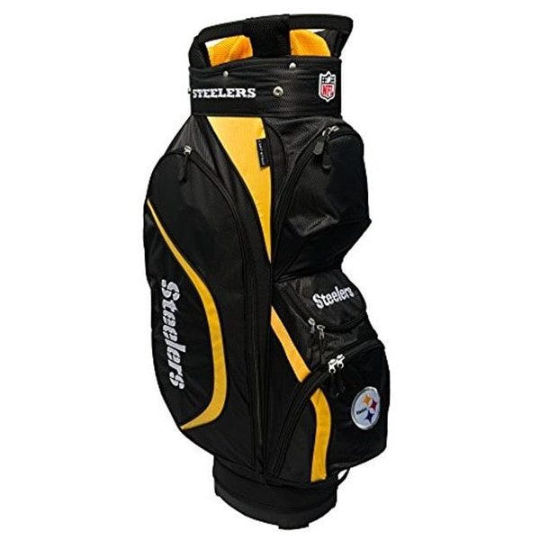 1a1582f8fb7 Shop Team Golf 32462 NFL Pittsburgh Steelers Clubhouse Golf Cart Bag - Free  Shipping Today - Overstock.com - 23798057