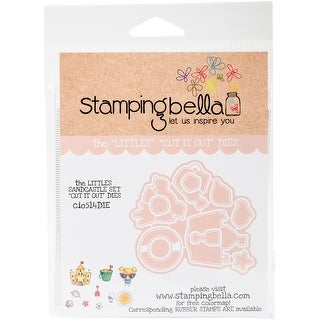 Sandcastle - Stamping Bella The Littles Cut It Out Dies