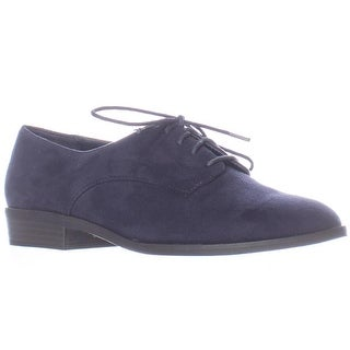 B35 Gelsey Lace Up Oxfords - Navy