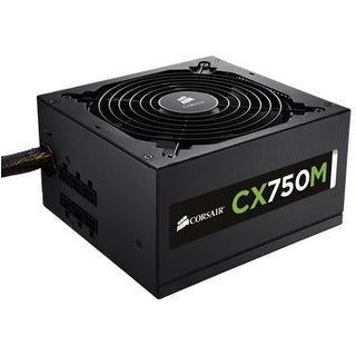 Corsair CP-9020061-NA CX750M 750W Modular Power Supply 80Plus Bronze
