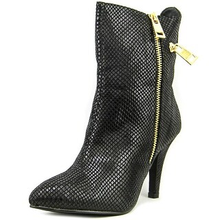 Bellini Claudia W Pointed Toe Canvas Ankle Boot