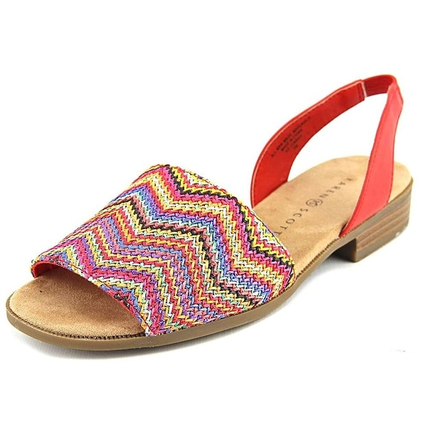 Karen Scott Womens JONNAH Peep Toe Casual Slide Sandals