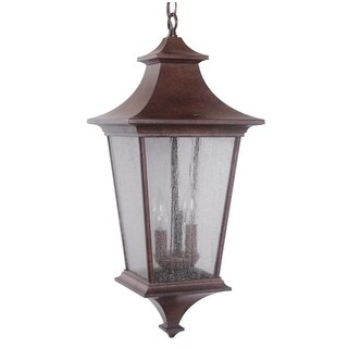 Craftmade Z1371 Argent II 3 Light Lantern Indoor Pendant - 10 Inches Wide