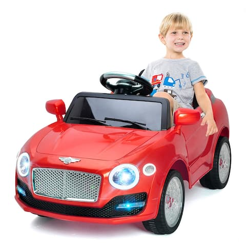Costway 6V Kids Ride On Car Electric Battery Power RC Remote Control &