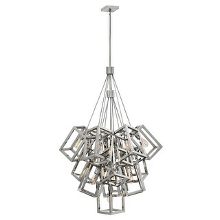 Fredrick Ramond FR42449PNI 13 Light Large Foyer Pendant from the Ensemble Collection