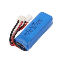DC 7.4V 520mAh Rechargable Lithium Battery Pack for RC Aircraft Blue