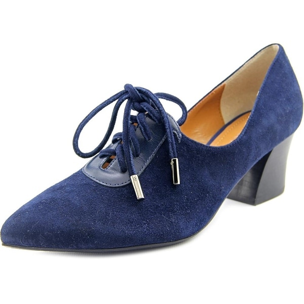 J. Renee Ellam Navy Pumps