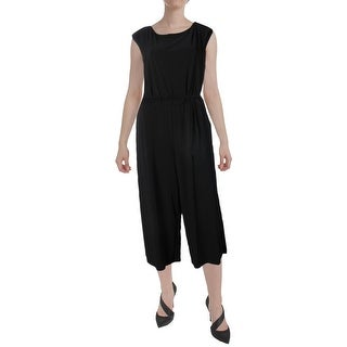 Lauren Ralph Lauren Womens Karrey Jumpsuit Matte Jersey Wide Leg