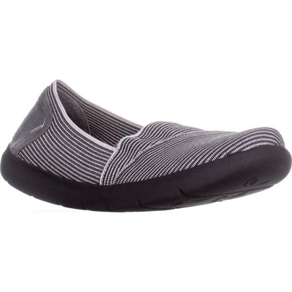 BareTraps Imani Loafers, Grey.Black - 7.5 us