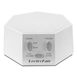 LectroFan - Fan Sound and White Noise Machine - White