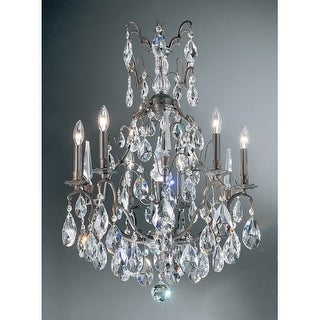 "Classic Lighting 9007-AB 33"" Crystal Chandelier from the Versailles Collection"