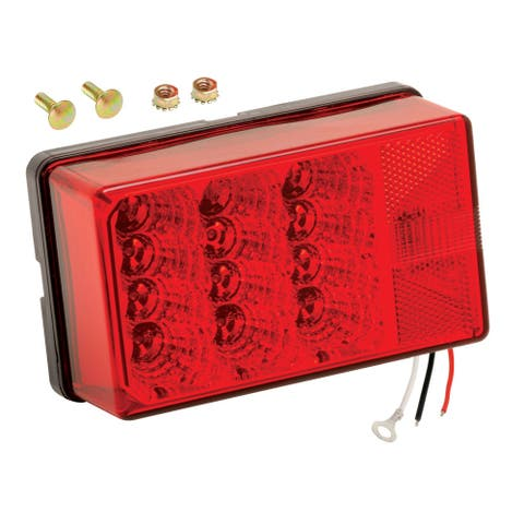 Wesbar 4 x6 waterproof led 7-funct tail light right 80