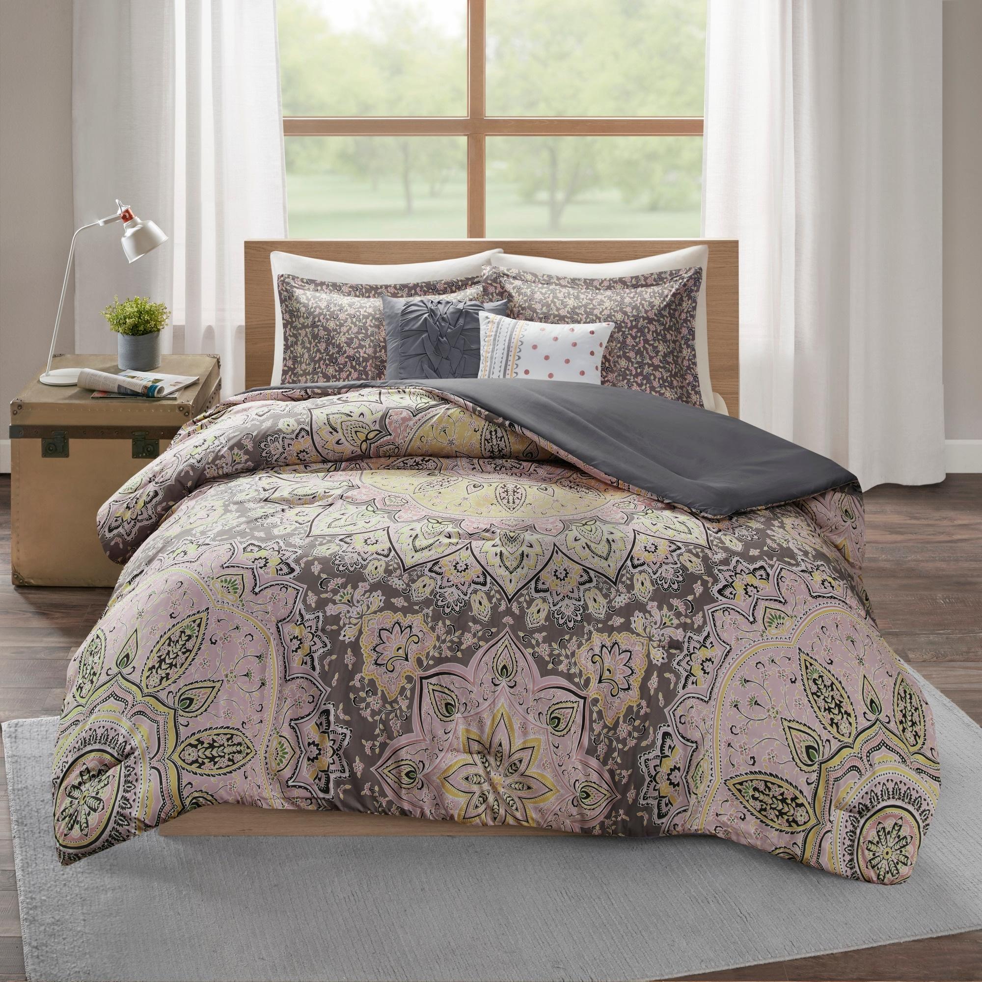 Skye Boho 5 Piece Comforter Set By Intelligent Design On Sale Overstock 20901619