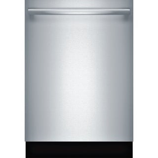Bosch SHXM65W5 24 Inch Wide 16 Place Setting Energy Star Built-In Fully Integrated Dishwasher with Bar Handle and Delicate