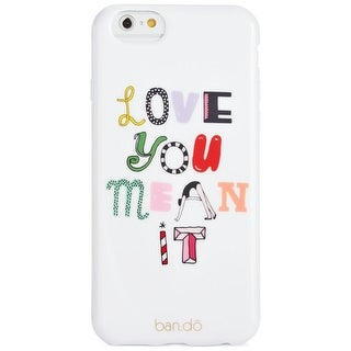 Ban.do Womens Love You Mean It Cell Phone Case iPhone Graphic