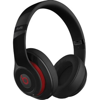 Beats Studio 2.0 WIRED Over Ear Headphones-Black (Refurbished)