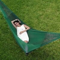 Sunnydaze Green Mayan Hammock