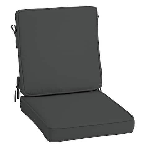 Arden Selections ProFoam Acrylic High Back Chair Cushion - 40 L x 20 W x 3.5 H in