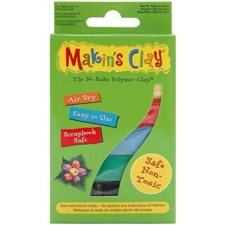 Makin's Clay Air-dry Clay 120g-Multicolor