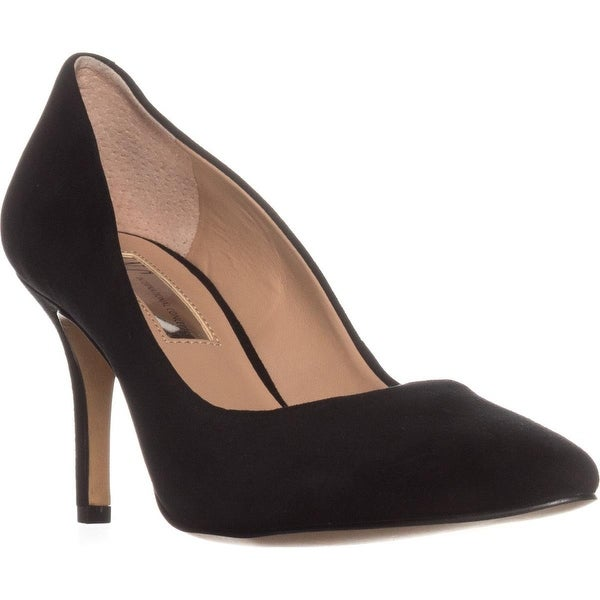 I35 Zitah5 Pointed-Toe Heels, Black Suede