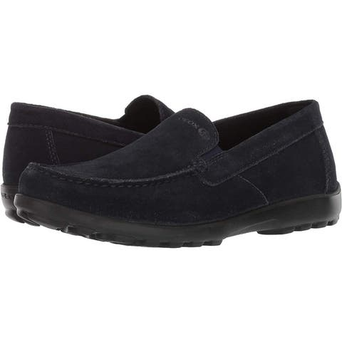 Geox Men's Romaryc 5 Suede Plain Vamp Loafer Flat - 7
