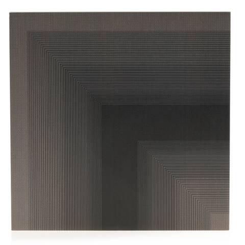 8x8 Level Gray Down Angle Porc.Tile (6.9 Sq. Ft./ 16 pc box)