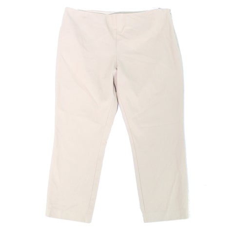 Lauren By Ralph Lauren Beige Women's Size 16 Stretch Dress Pants