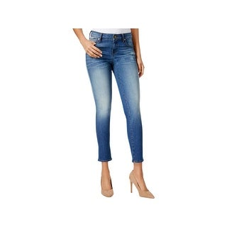 Kut From The Kloth Womens Brigitte Ankle Jeans Distressed Mid-Rise